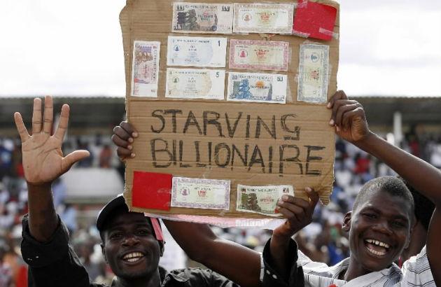 starving billionaire