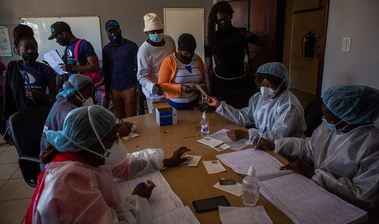 Vaccination has drastically slowed down in Zimbabwe but it still leads the region