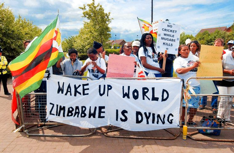zimbabwe is dying